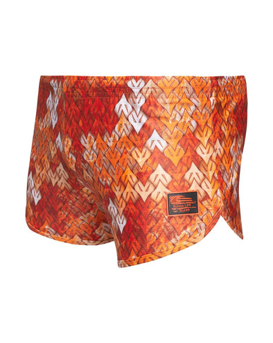 Orange Virtus Outdoors VOG PYRA  🦅 Camo Sunga Life Lycra Swimwear Silkies | Men's Ranger Panties Training Shorts