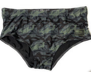 Multicam Black - Naked Warrior Camo Lycra Brazilian Sunga Swimwear | Sunga Life
