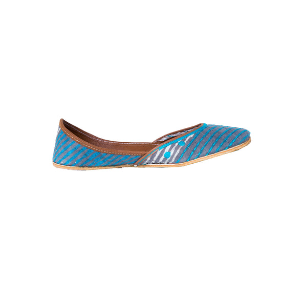 BAHAMA BLUE RETRO STRIPES