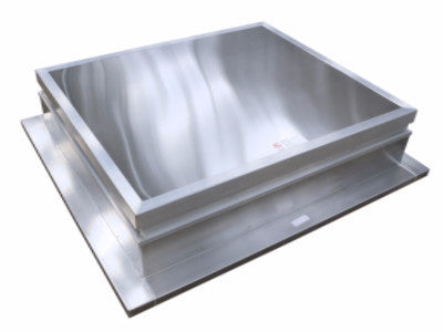 Insulated AXS AOV smoke ventilator