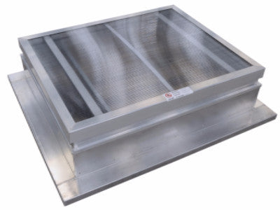 AXS 140 AOV smoke ventilator and roof access hatch