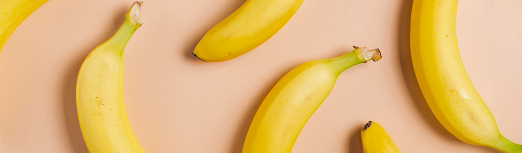 Picture of banana for skin care