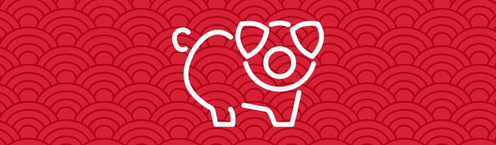 Year of the Pig, pig symbol, Chinese Zodiac