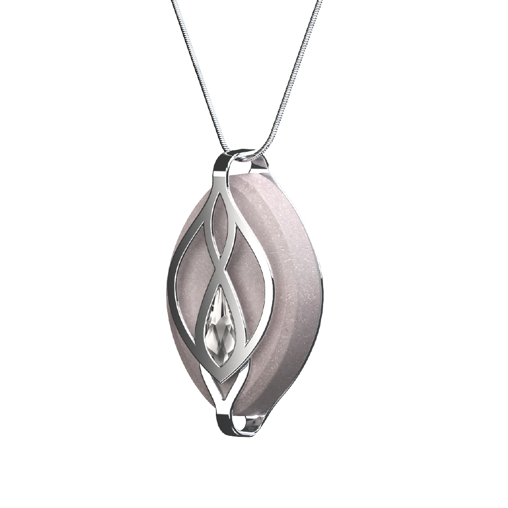 Bellabeat Leaf Crystal Silver Wellness Tracker