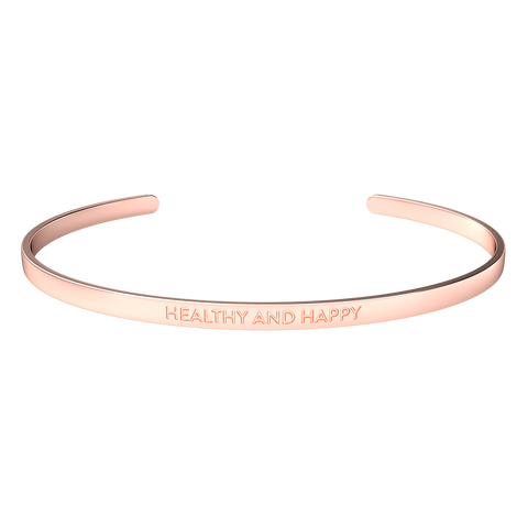 "Inspire bracelet ""Healthy and happy"""
