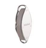Leaf Urban health tracker, silver edition. Hypoallergenic stainless steel clip.