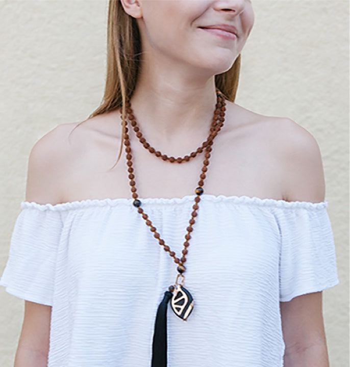 Mala necklace | Prosperity - Bellabeat