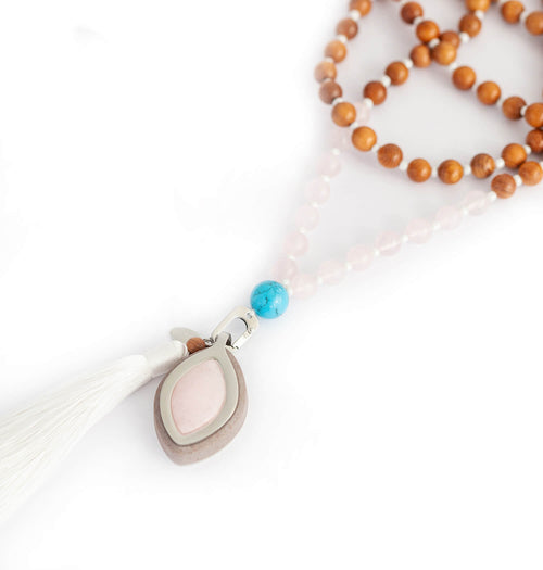 Leaf Chakra Love + FREE Mala necklace | Love - Bellabeat