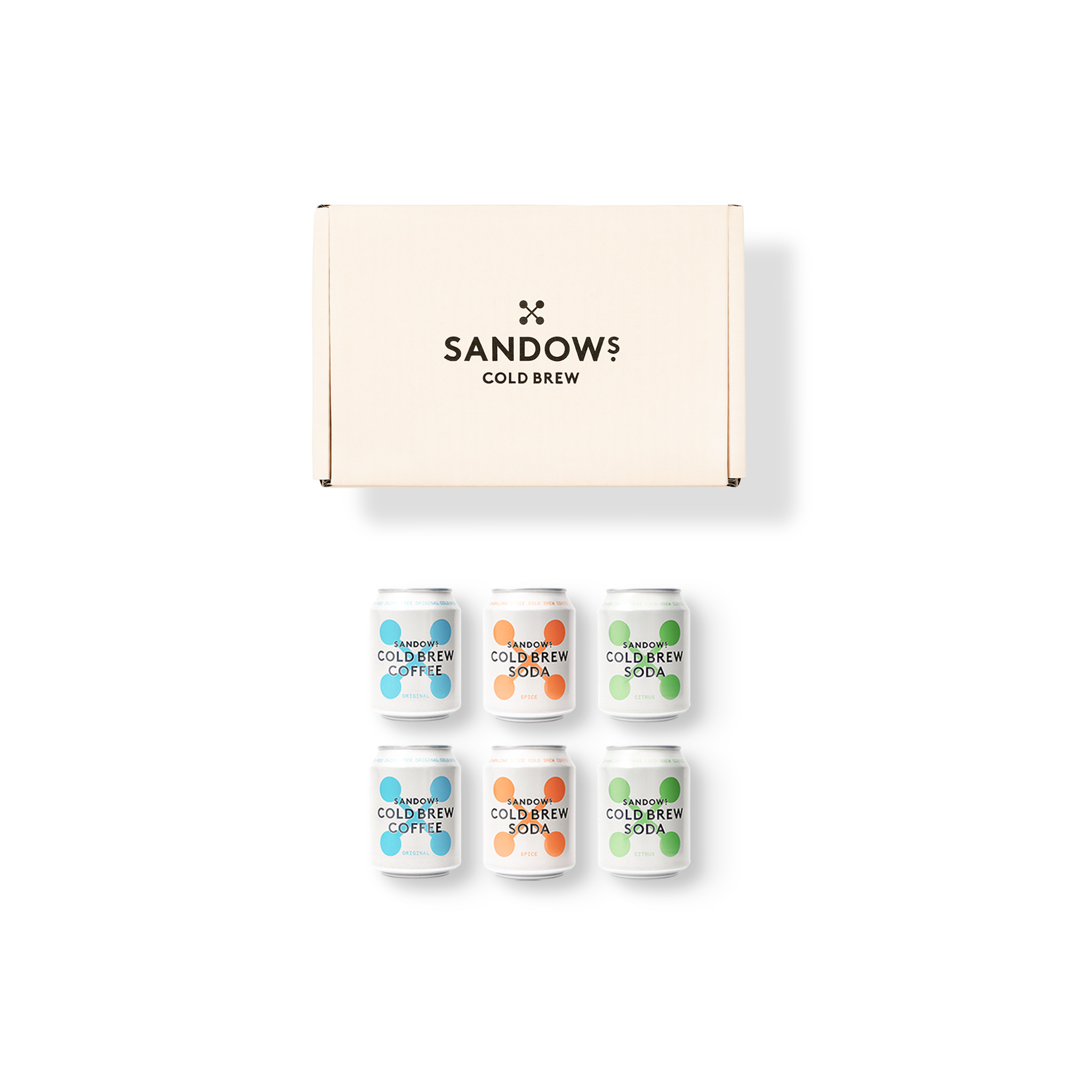 Sandows Can Variety Box
