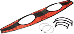 kakak creek innova kayaks seawave inflatable kayak 2 person deck