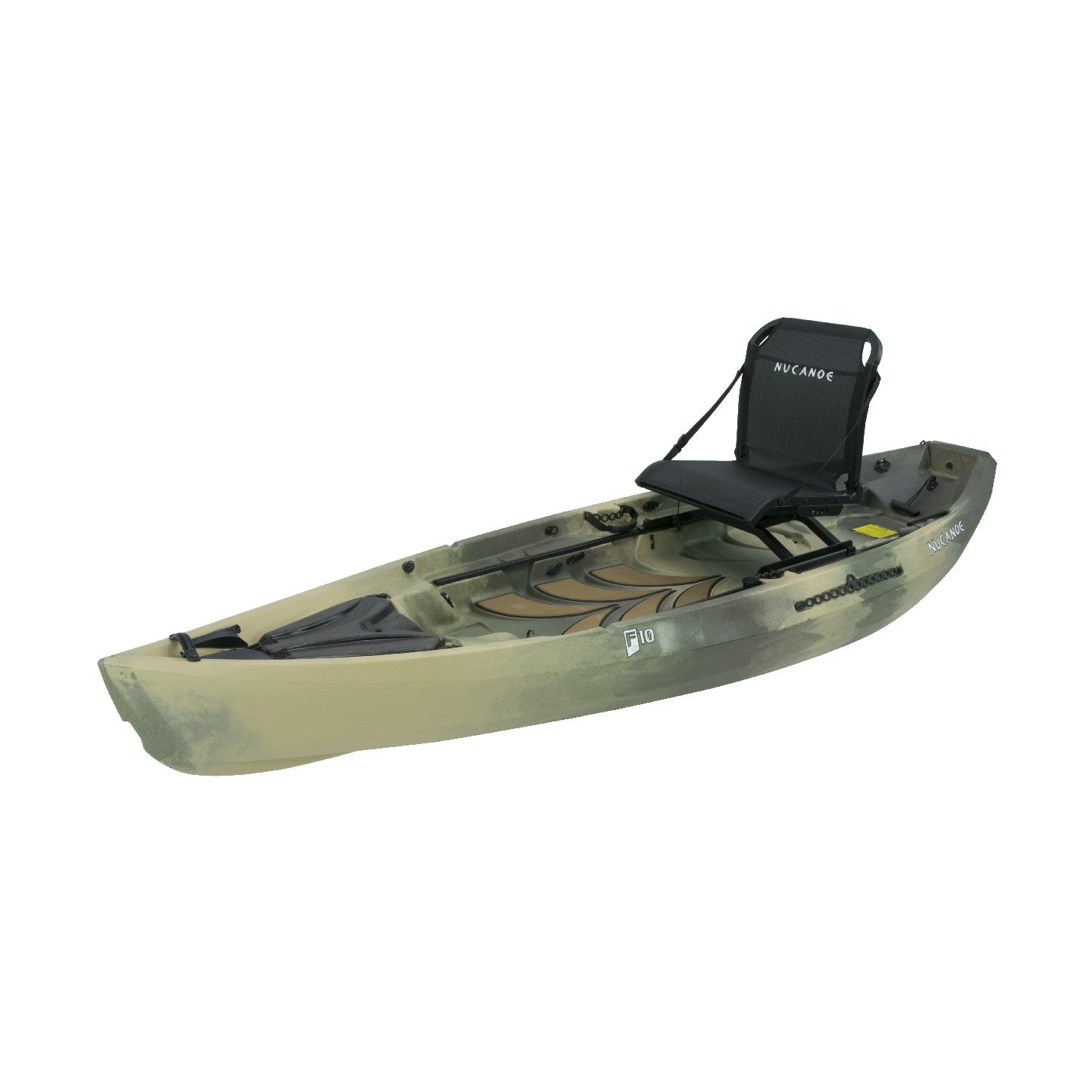 NuCanoe Frontier 10 F10 Fishing Kayak | 2020 - Kayak Creek