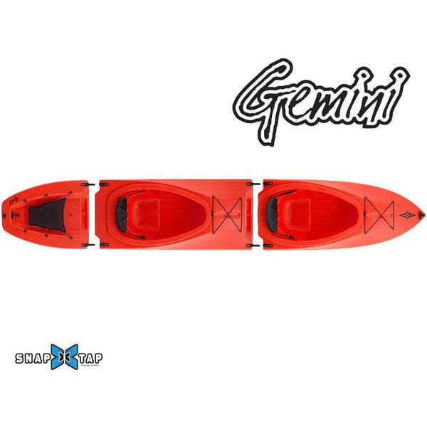 Point 65 Gemini GT Tandem Modular Kayak - Kayak Creek