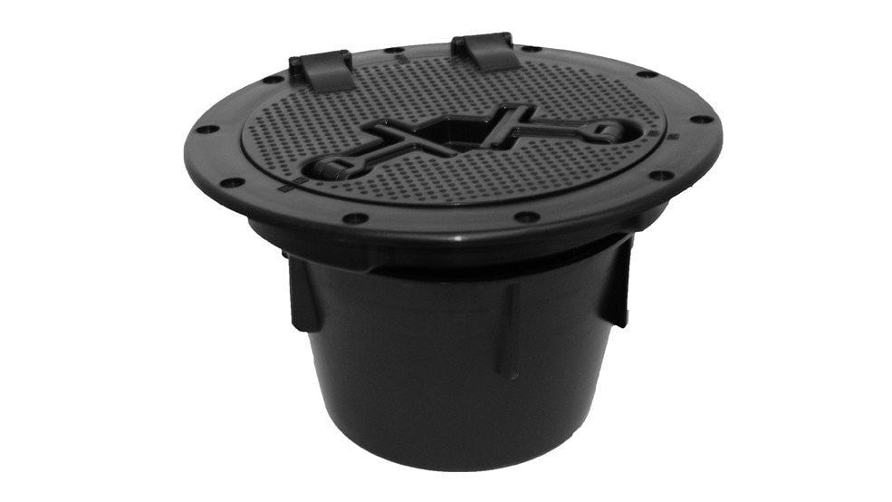 "Malibu Kayaks 8"" ROUND HATCH WITH BUCKET - Kayak Creek"