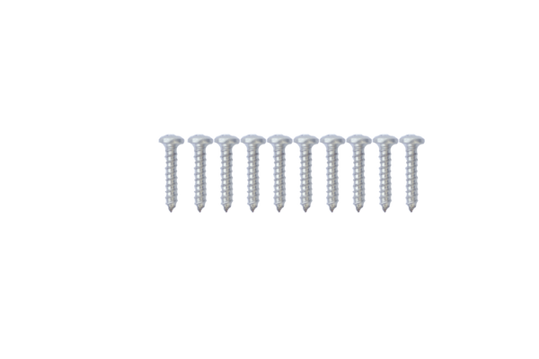 "Malibu Kayaks #10x1"" PPH Screw For Aluminum Recessed Track (10 pcs.) - Kayak Creek"