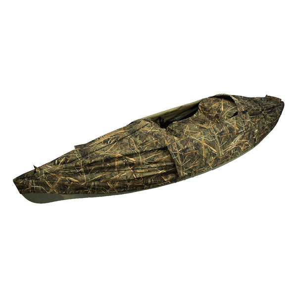NuCanoe #5012 Frontier 12 Kayak Layout Duck Hunting Blind - Kayak Creek