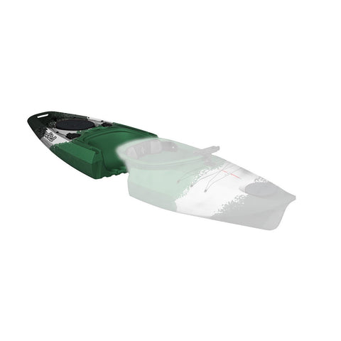 Point 65 Martini GTX Angler Kayak - Back Section - Green Cammo - Kayak Creek