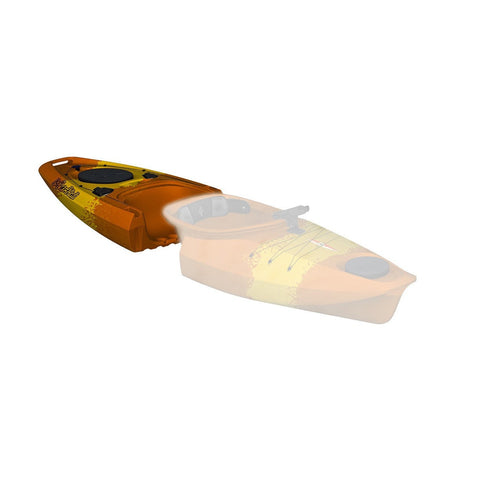 Point 65 Martini GTX Angler Kayak - Back Section - Yellow/Orange - Kayak Creek