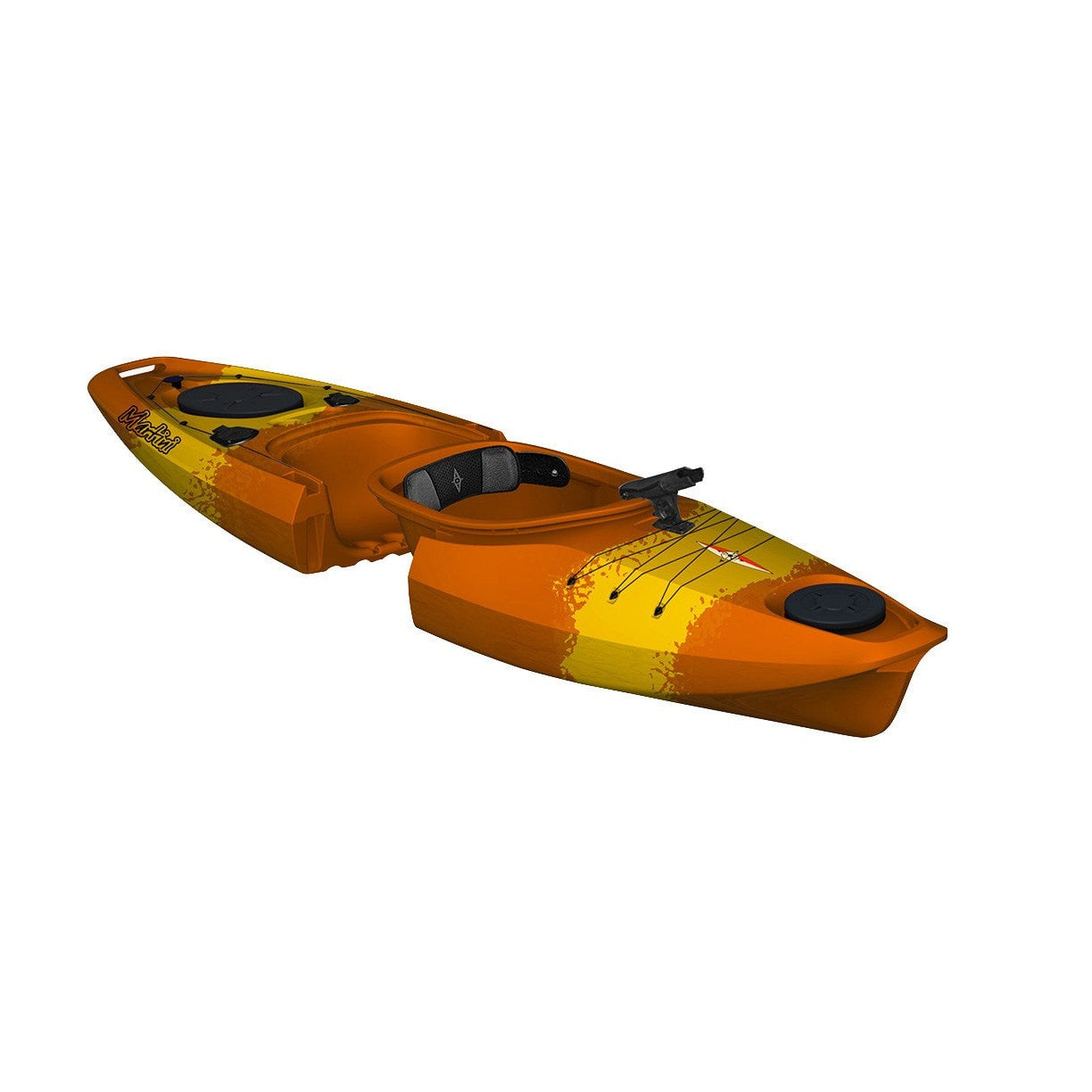 Point 65 Martini GTX Angler Solo Kayak - Yellow/Orange - Kayak Creek