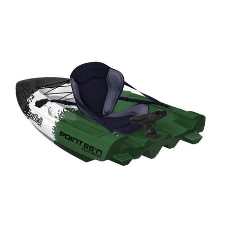 Point 65 Tequila! GTX Angler Kayak - Back Section - Green Cammo - Kayak Creek