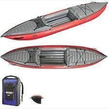 Innova Kayaks Helios I EX Inflatable Kayak - Red HEL-0000-068 - Kayak Creek