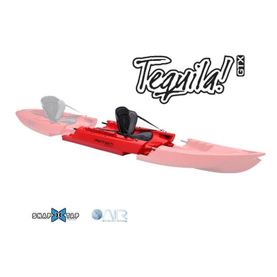Point 65 Tequila! GTX Modular Kayak - Mid Section - Red - Kayak Creek