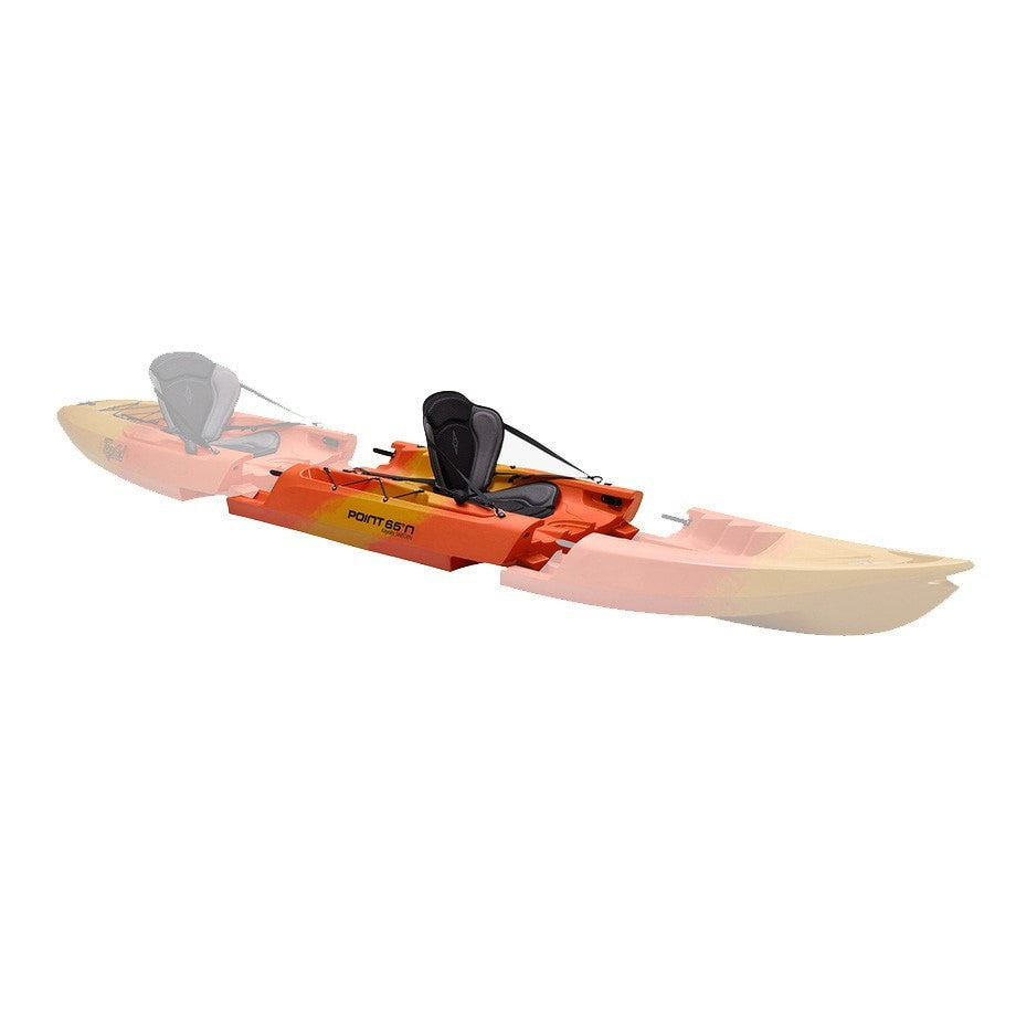 Point 65 Tequila! GTX Modular Kayak - Mid Section - Yellow/Orange - Kayak Creek