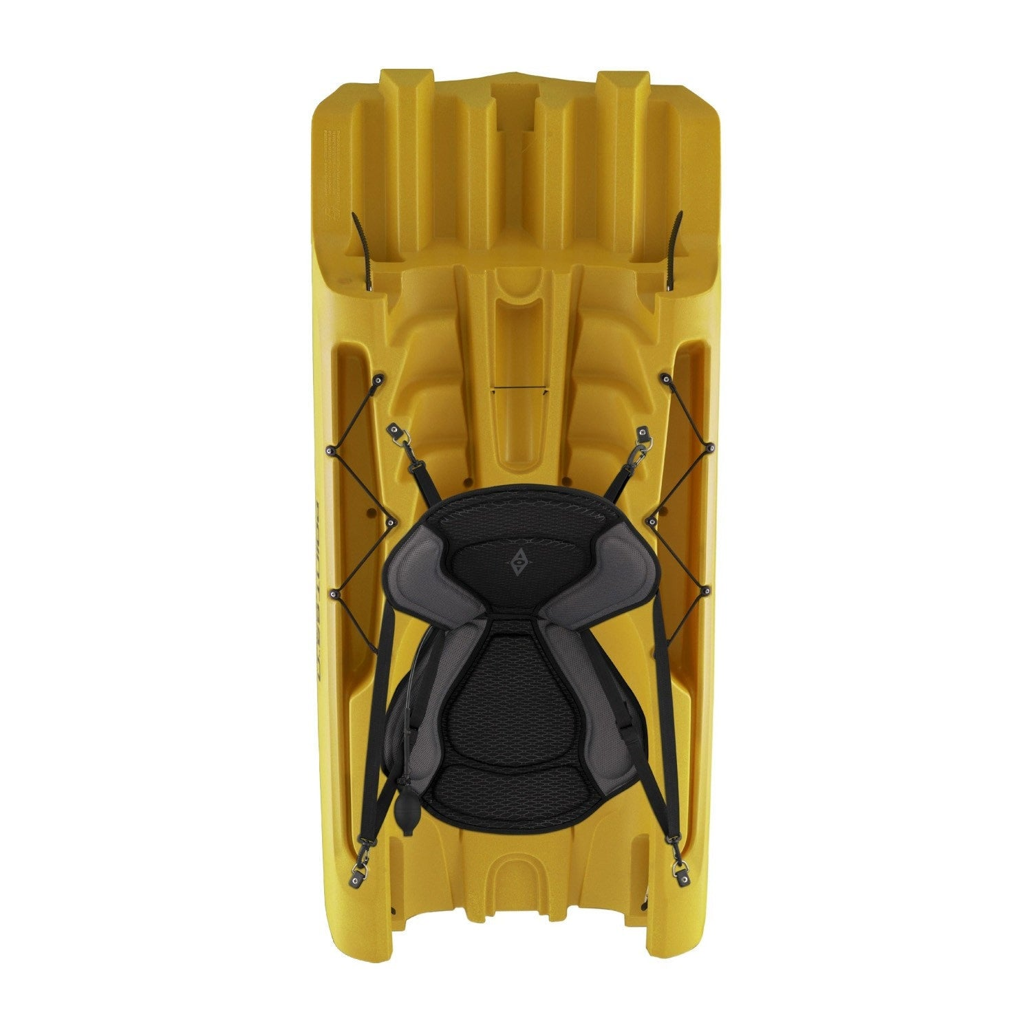 Point 65 Tequila! GTX Modular Kayak - Mid Section - Yellow - Kayak Creek