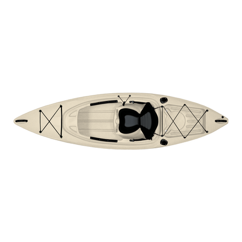 Malibu Kayaks Sierra-10 Fish & Dive Kayak | Solid Colors - Kayak Creek