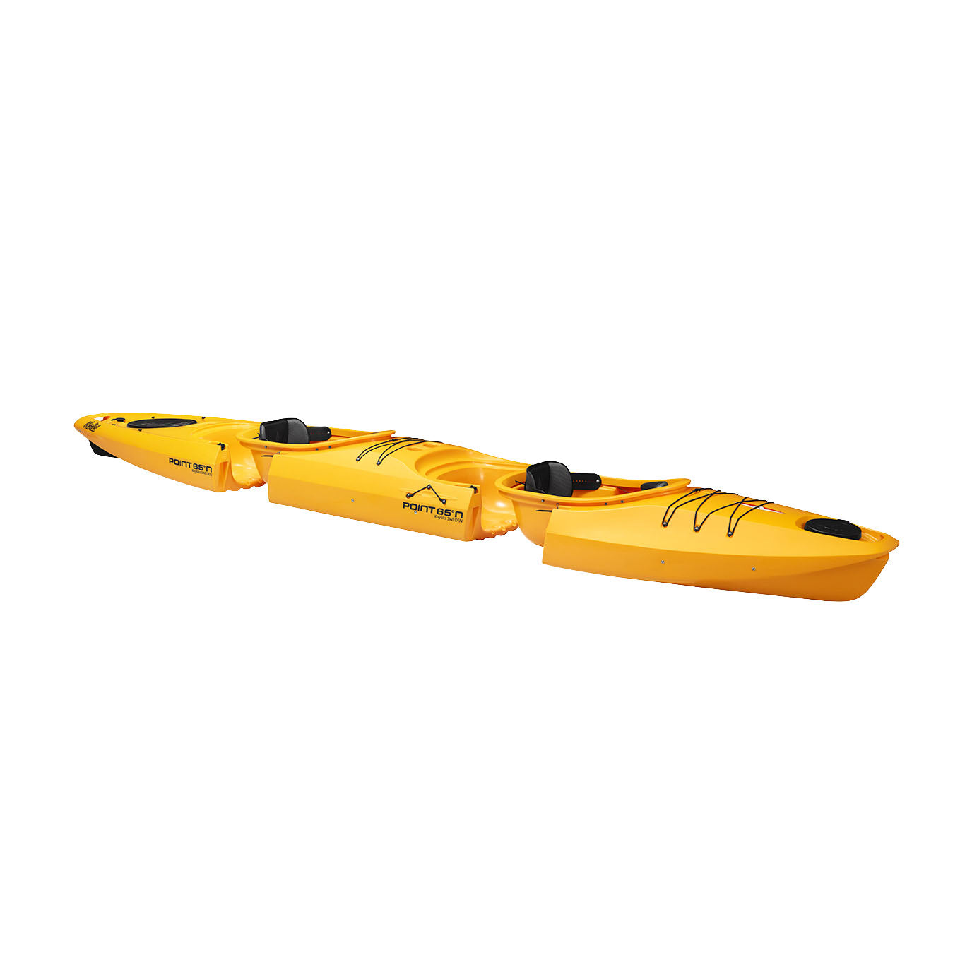 Point 65 Martini GTX Tandem Modular Kayak - Yellow - Kayak Creek