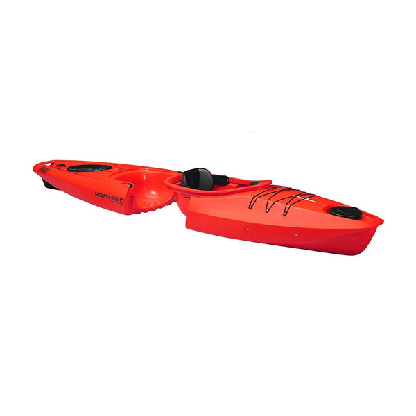 Point 65 Martini GTX Solo Modular Kayak - Red - Kayak Creek