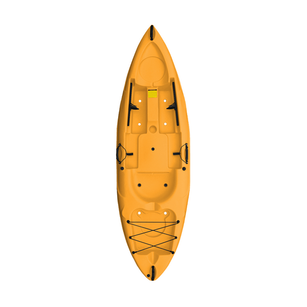 Malibu Kayaks Mini-X Standard Package Kayak | Solid Colors - Kayak Creek