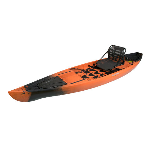 NuCanoe Pursuit 13.5' Fishing Kayak | Hazard Camo - Kayak Creek