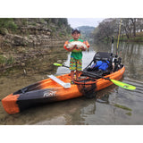 NuCanoe Flint Fishing Kayak  | Hazard Camo - Kayak Creek