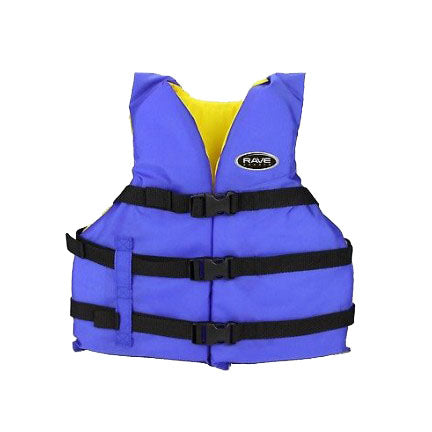 Rave Sports Adult Universal Life Vest - Kayak Creek