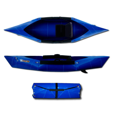 Tucktec Folding Kayak | Tucktec Blue - Kayak Creek