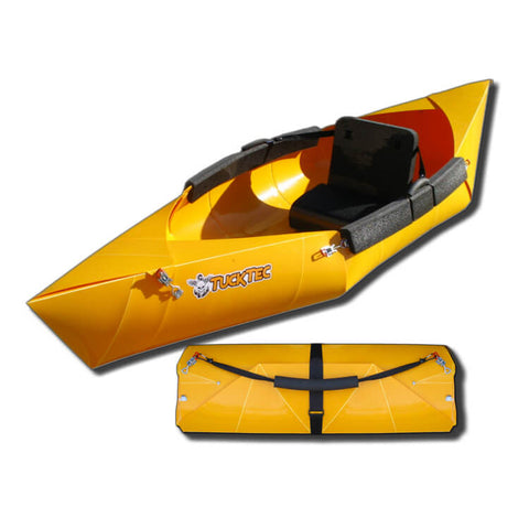 Tucktec Folding Kayak | Bright Yellow - Kayak Creek