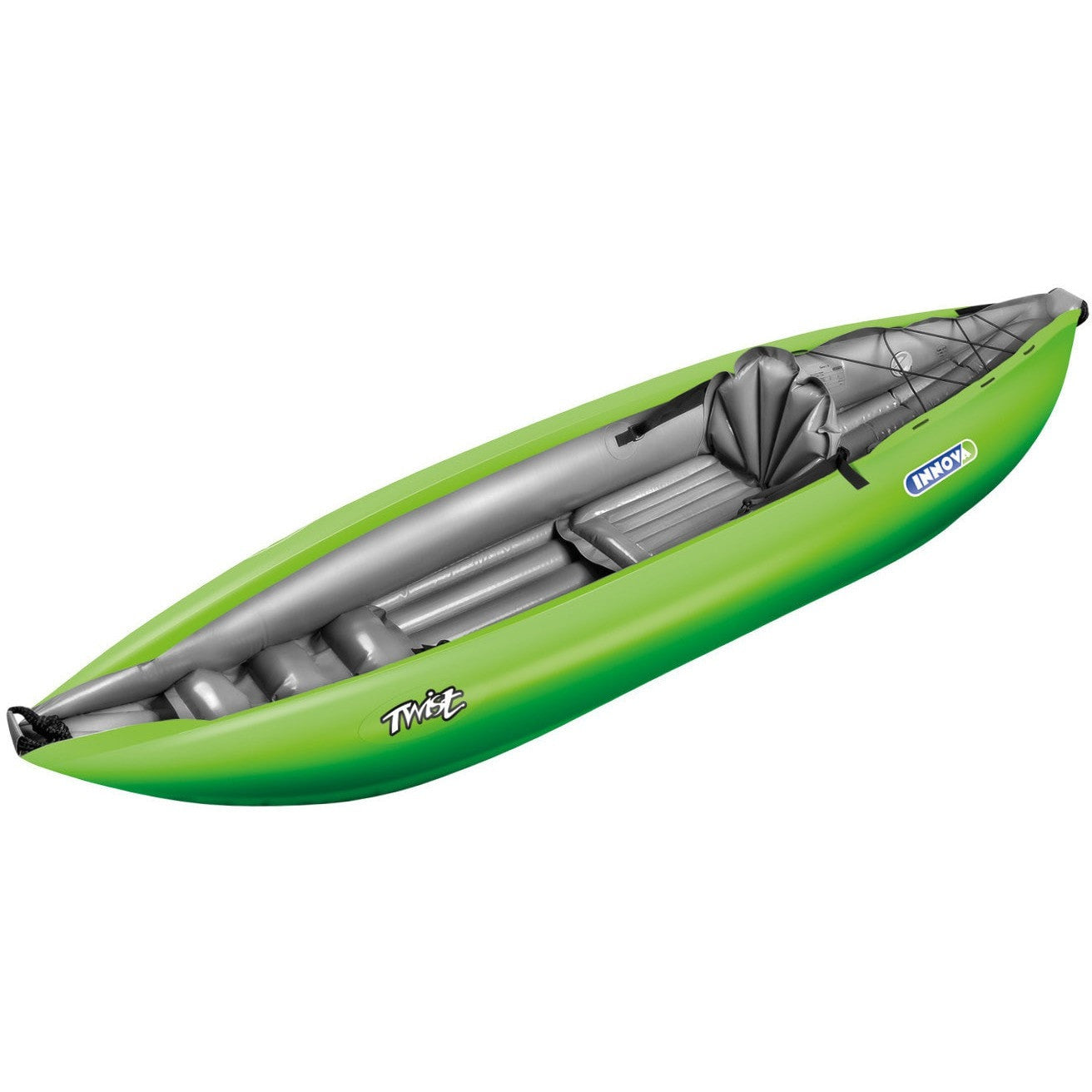 Innova Twist 1 Inflatable Sit-On Kayak | Green - Kayak Creek