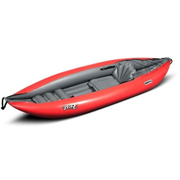 Innova Twist 1 Inflatable Sit-On Kayak | Red - Kayak Creek