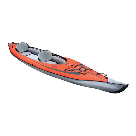 Advanced Elements AdvancedFrame Convertible Inflatable Kayak | Red - Kayak Creek