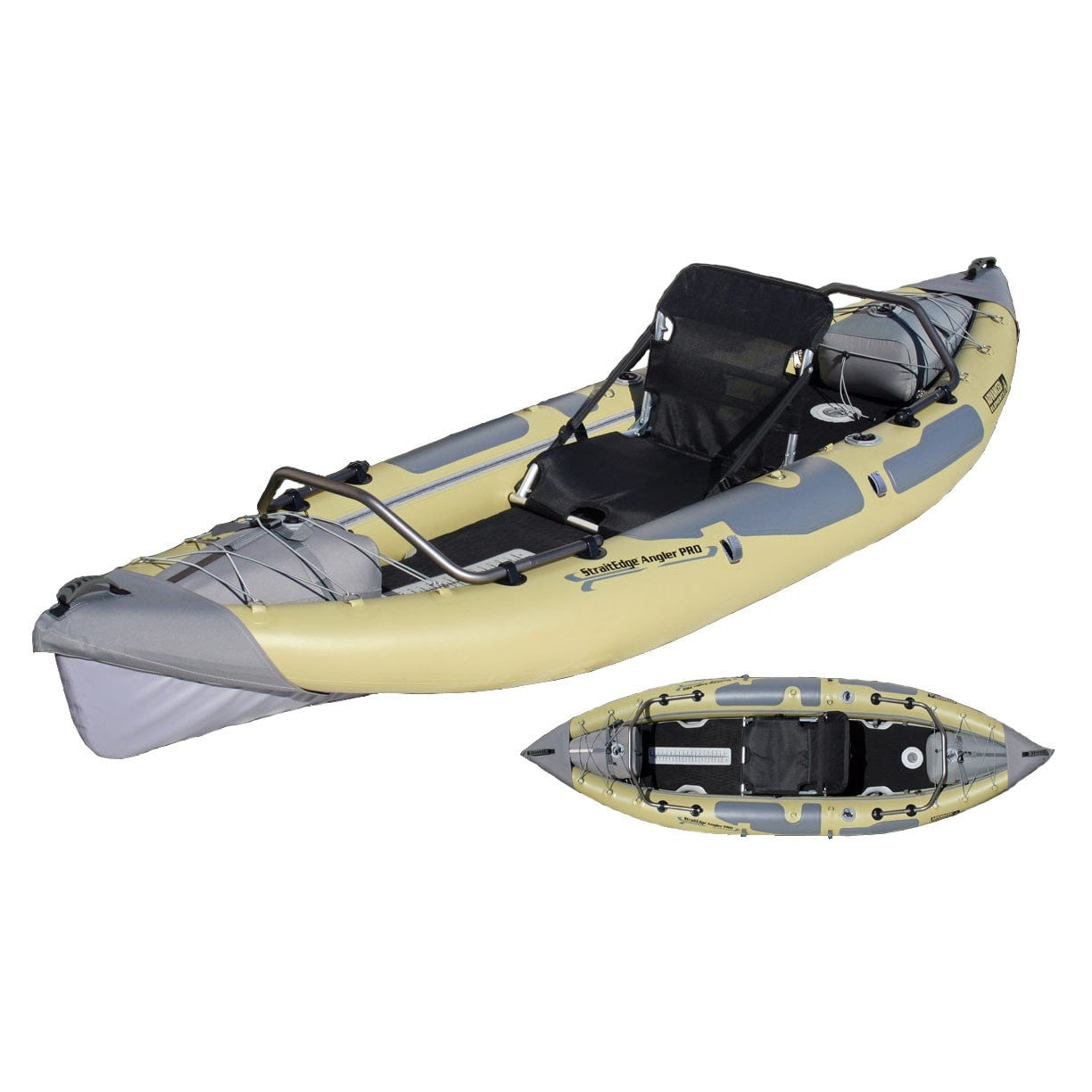 Advanced Elements StraitEdge Angler Pro Inflatable Kayak - Kayak Creek