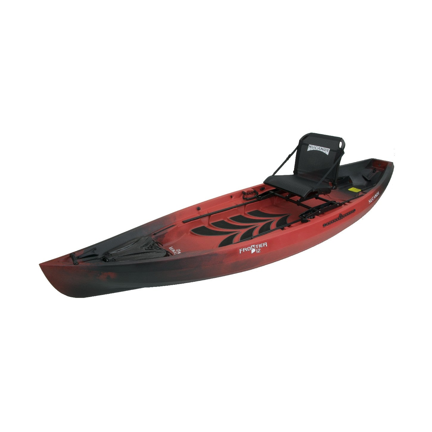 NuCanoe Frontier 12 Fishing Kayak 2020 | Bulldog Red - Kayak Creek