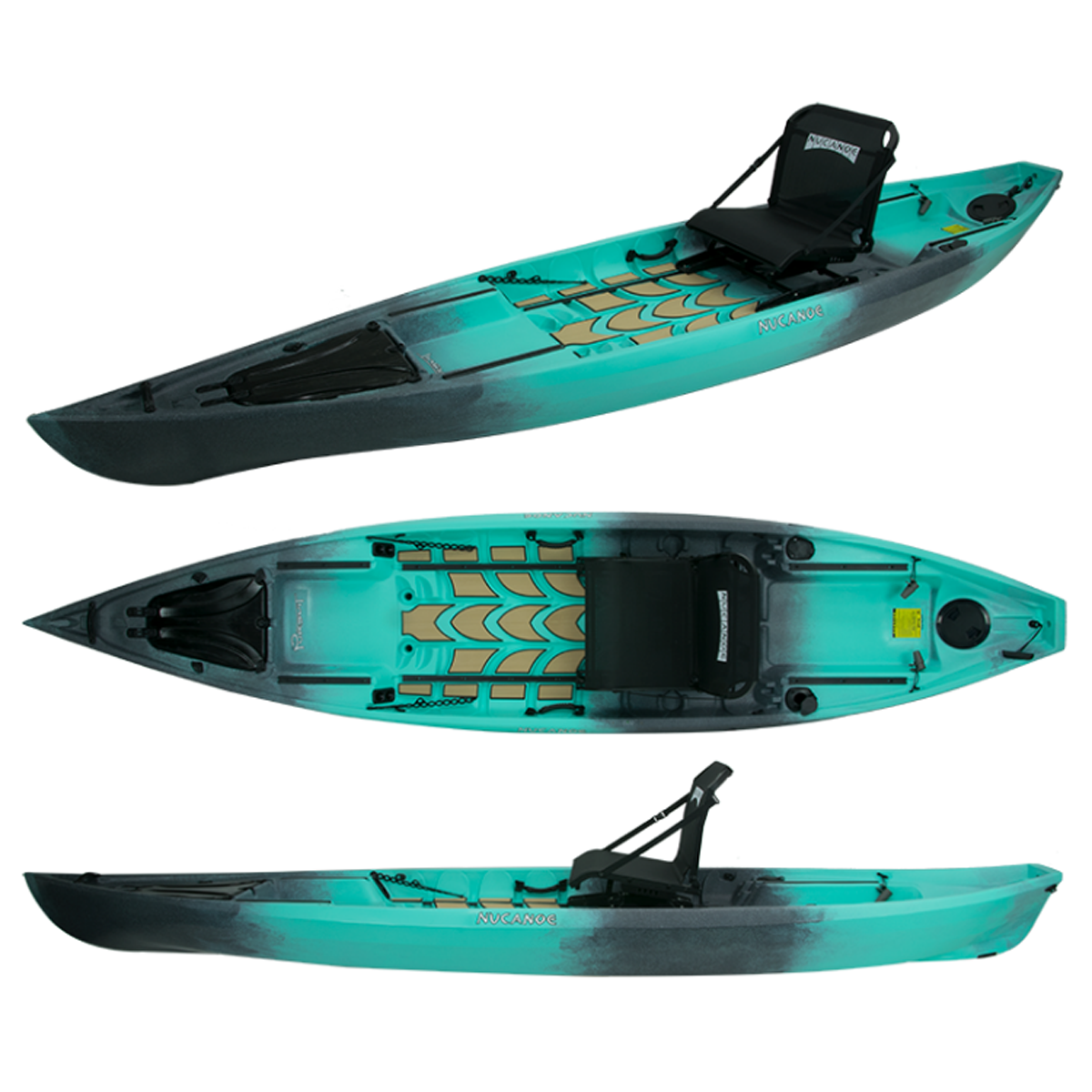 NuCanoe Pursuit 13.5' Fishing Kayak - Kayak Creek