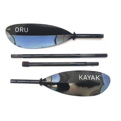 Oru Kayaks 4 Piece Kayak Paddle | Carbon - Kayak Creek