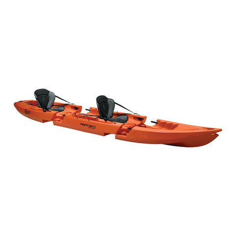 Point 65 Tequila! GTX Tandem Modular Kayak - Orange - Kayak Creek