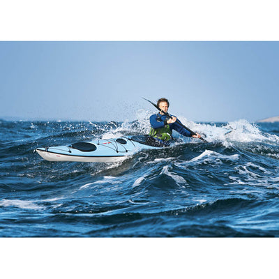 Point 65 Whisky 16 Tourer Touring Kayak - Skeg | Blue - Kayak Creek