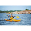 Point 65 XO13 GT Touring Kayak - Rudder & Skeg | White/Blue - Kayak Creek
