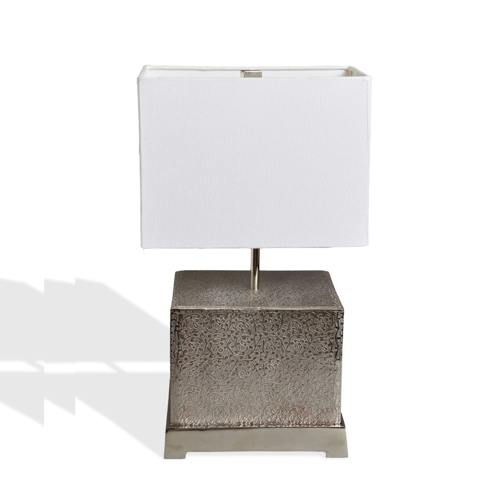 Orna contemporary silver table lamp australian designed decor orna contemporary silver table lamp geotapseo Image collections