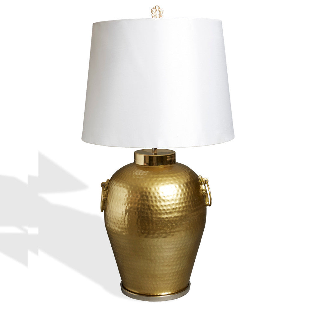 Orna artisan mediterranean urn table lamp australian designed orna gold classical urn table lamp geotapseo Image collections