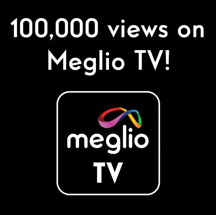 100,000 views on Meglio TV!