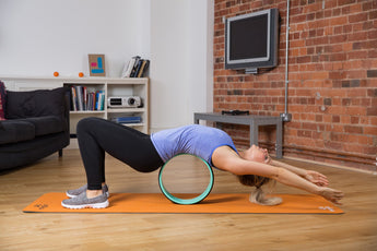 The Meglio Yoga Wheel is the perfect posture tool
